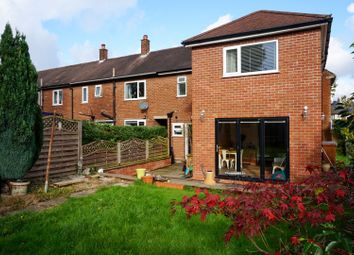 Thumbnail 3 bed terraced house for sale in Newbury Road, Heald Green