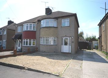 Thumbnail 3 bedroom semi-detached house for sale in Gillian Avenue, Aldershot, Hampshire