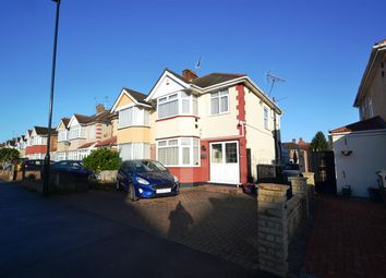 Thumbnail 3 bed semi-detached house for sale in Carlton Avenue, Feltham