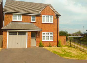 Thumbnail 4 bed detached house for sale in Himley Close, Bilston