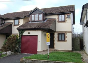 Thumbnail 4 bed detached house for sale in Higher Sandygate, Newton Abbot