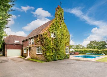 Thumbnail 4 bed detached house for sale in Stane Street, North Heath, Pulborough