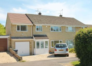 Thumbnail 4 bed semi-detached house for sale in Oakleaze, Minety, Wiltshire