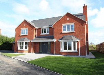 Thumbnail 5 bedroom detached house for sale in Pinewood Road, Ashley Heath, Market Drayton