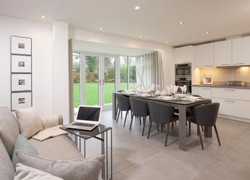"Thumbnail 4 bed detached house for sale in ""Exeter"" at Fen Street, Brooklands, Milton Keynes"