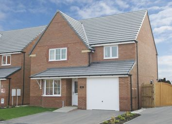 "Thumbnail 4 bed detached house for sale in ""Kennington"" at Stanley Close, Corby"