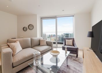 Thumbnail 1 bedroom flat to rent in Charrington Tower, New Providence Wharf, London