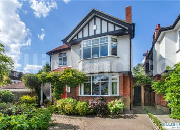 Thumbnail 5 bed detached house for sale in Goodwyn Avenue, Mill Hill, London