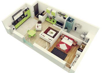 Thumbnail 1 bedroom flat to rent in Fanshaee Avenue, Barking