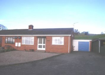 Thumbnail 3 bed semi-detached bungalow to rent in 6, Oakfields, Llansantffraid, Powys