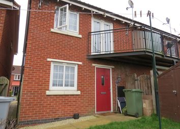 Thumbnail 1 bed semi-detached house for sale in Parsons Close, Fernwood, Newark