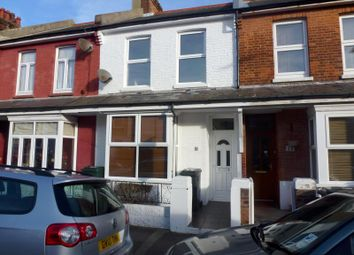 Thumbnail 2 bedroom terraced house to rent in Neville Road, Eastbourne