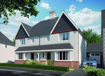 Thumbnail 4 bed semi-detached house for sale in William Morris Way, Tadpole Garden Village, Swindon