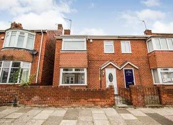 Thumbnail 3 bed semi-detached house for sale in Gladstone Street, Hebburn, Tyne And Wear