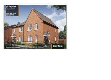 Thumbnail 3 bed semi-detached house for sale in Weavers Way, Stockton, Southam