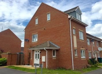Thumbnail 3 bed end terrace house to rent in Barrie Way, Stoke