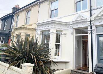 Thumbnail 2 bed terraced house for sale in Harold Road, Hastings, East Sussex.