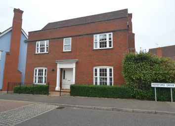 Thumbnail 5 bed detached house to rent in Hereford Drive, Claydon, Ipswich