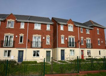Thumbnail Town house to rent in Dace Road, Wednesfield, Wolverhampton