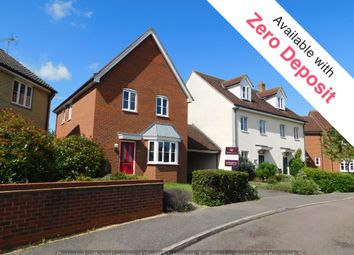 Thumbnail 3 bedroom link-detached house to rent in Turnstone Drive, Bury St. Edmunds