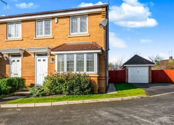 Thumbnail 3 bed semi-detached house for sale in Breezehill, Wootton, Northampton