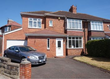 Thumbnail 3 bed semi-detached house for sale in Dimbula Gardens, Newcastle Upon Tyne