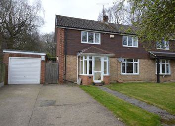 Thumbnail 4 bed semi-detached house for sale in New Hall Way, Flockton, Wakefield