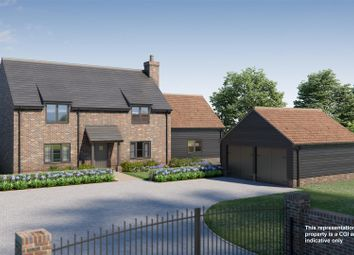 Thumbnail 4 bed detached house for sale in Brington, Huntingdon