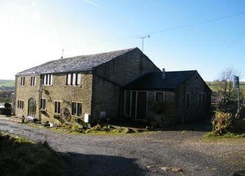 Thumbnail 3 bed equestrian property for sale in Heald Lane, Weir, Rossendale, Lancashire