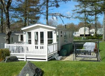 Thumbnail 3 bed mobile/park home for sale in Brynteg Holiday Home Park, Llanrug Caernarfon 4Rf