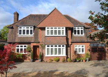 Thumbnail 5 bedroom detached house for sale in Fir Tree Road, Epsom