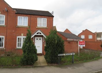 Thumbnail 3 bed end terrace house for sale in Bridge Meadow Way, Grange Park, Northampton