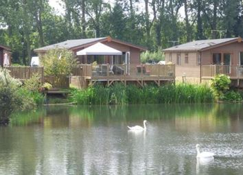 Thumbnail 3 bedroom bungalow for sale in Goose Island, Billing Aquadrome, Northamptonshire