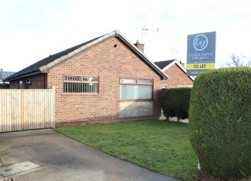 Thumbnail 2 bed bungalow to rent in Beverley Close, Rainworth