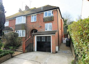 Thumbnail 4 bed semi-detached house for sale in London Road, Hythe