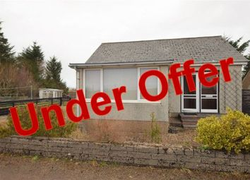 Thumbnail 1 bed bungalow for sale in The Bungalow, Lower Banniskirk, Halkirk
