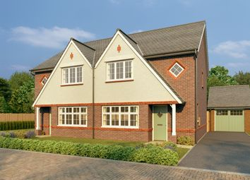 Thumbnail 3 bed semi-detached house for sale in Westley Green, Dry Street, Langdon Hills, Essex