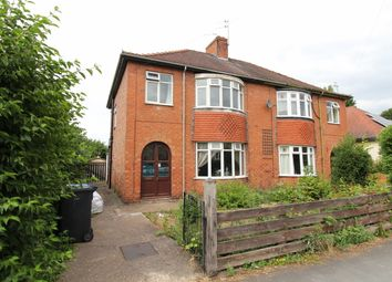 Thumbnail 3 bed semi-detached house for sale in North Marsh Road, Gainsborough