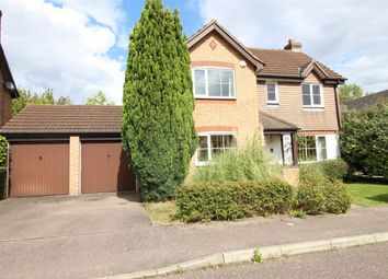 Thumbnail 4 bed detached house for sale in Goshawk Close, Hartford, Huntingdon