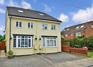 4 bed semi-detached house for sale in Vicarage Road, Halling, Rochester, Kent ME2