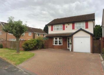 Thumbnail 4 bed detached house to rent in Farnborough Drive, Shirley, Solihull, West Midlands