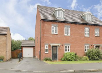 4 bed semi-detached house for sale in Woodhorn Close, Arnold, Nottinghamshire NG5