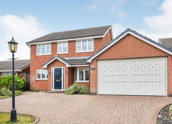 Thumbnail 4 bed detached house for sale in Bushton Lane, Anslow, Burton On Trent, Staffordshire