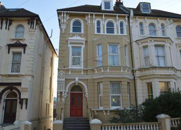 Thumbnail 2 bedroom flat to rent in Cornwallis Gardens, Hastings, East Sussex