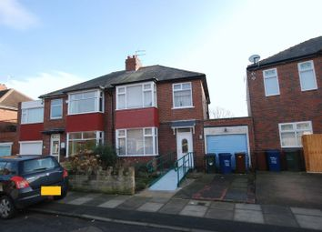 Thumbnail 3 bed semi-detached house for sale in Ridgewood Crescent, Gosforth, Newcastle Upon Tyne