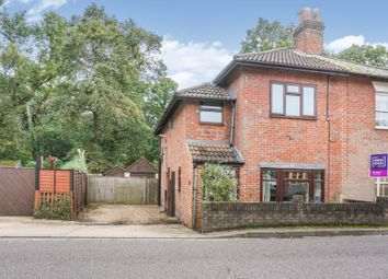 Thumbnail 2 bed semi-detached house for sale in Burgess Road, Southampton