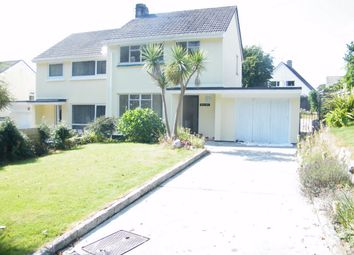 Thumbnail 3 bed semi-detached house to rent in Mongleath Road, Falmouth