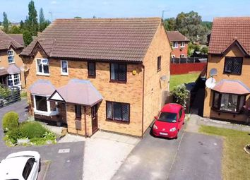 Thumbnail 3 bed semi-detached house for sale in Forstal Close, Corby, Northamptonshire