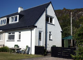 Thumbnail 2 bed semi-detached house for sale in 8 Seaview Terrace, Oban