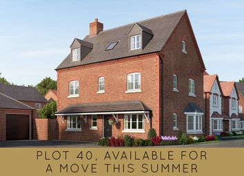 """Thumbnail 5 bedroom detached house for sale in """"The Lambourne"""" at Kiln Lane, Leigh Sinton, Malvern"""